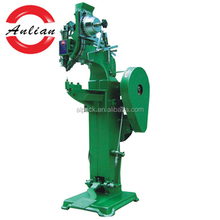 Hand press riveting machine for clutch plate making