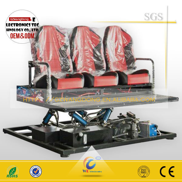 high quality full-motion 3d car driving simulator/platform simulator for sale