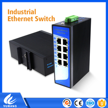 CCTV Camera Monitor System 8 ports outdoor network switch