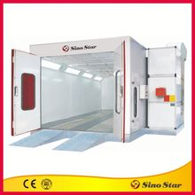 Mini powering coating paint booth for sale