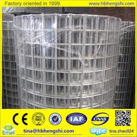 High security 1/2 inch galvanized welded wire mesh price