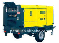 6m3/min 7 bar screw air compressor with diesel engine