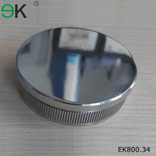 stainless steel glass fence post cap, round post caps