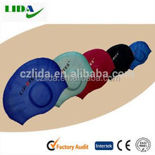 Diving silicone caps,ear production swimming cap