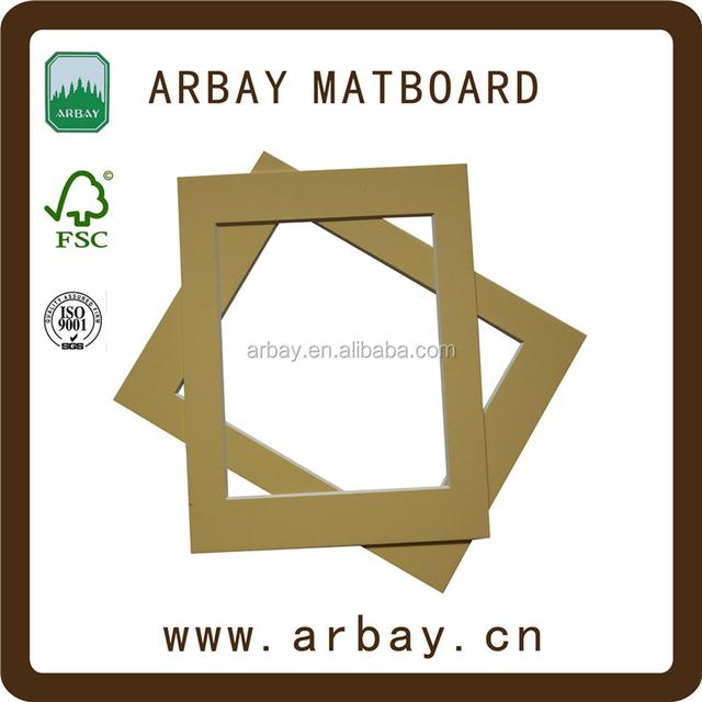 Frames pictures cardboard 10x15 Black cardboard 8x10 frames photo frame mat board single opening matboard