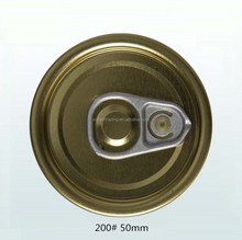 Tinplate 200# Easy Open End Pull Tab Cap For Can