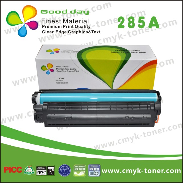 ce285a compatible for hp 85a black laserjet toner pret from 19years toner factory