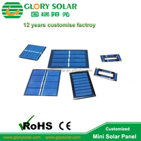 Professional Small Solar Panel Mini Custom Factory Made 2V 4V 5V 6V 9V 0.1W 0.2W 0.3W 0.4W 0.5W 0.6W 0.8W 1W In Different Shape