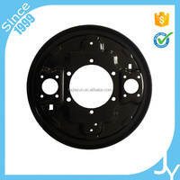 Long term carbon steel disc brake back plate supplier for AP6,leading ABS enterprise in china