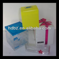 china professional attractive plastic folding jewelry gift boxes