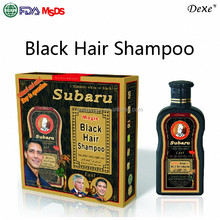 China herbal black hair shampoo wholesale black hair products organic color from factory