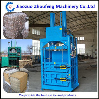 waste plastic clothing and rags compressor baling machine Scrap Car Recycling Baler machine