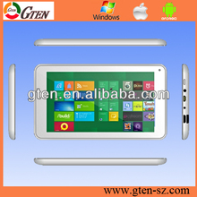 Windows 8 Supporting phone call Factory OEM Dual core 10 inch 1GB DDR3 memory tablet pc with GPS Bluetooth