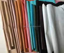 Various color of pig split glazed leather for shoes insole, lining etc, genuine leather