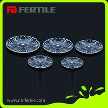 FERTILE Walmart audited factory large capacity petal acrylic fruit tray