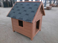 Weather proof Fashion design wpc wholesale dog cages