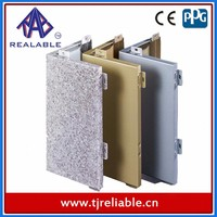 Metal Aluminum Marble Coating / stone veneer panel for exterior