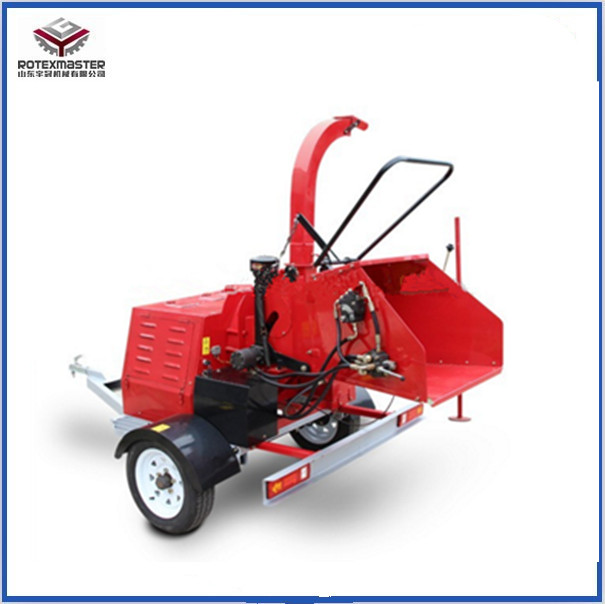 Safe Structure Wood Stump Shredder Chipper