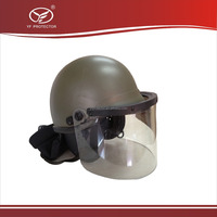 Damascus military combat helmets face shield and neck protector helmet price