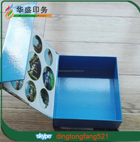Strong thicker luxury chipboard packaging box magnetic gift box