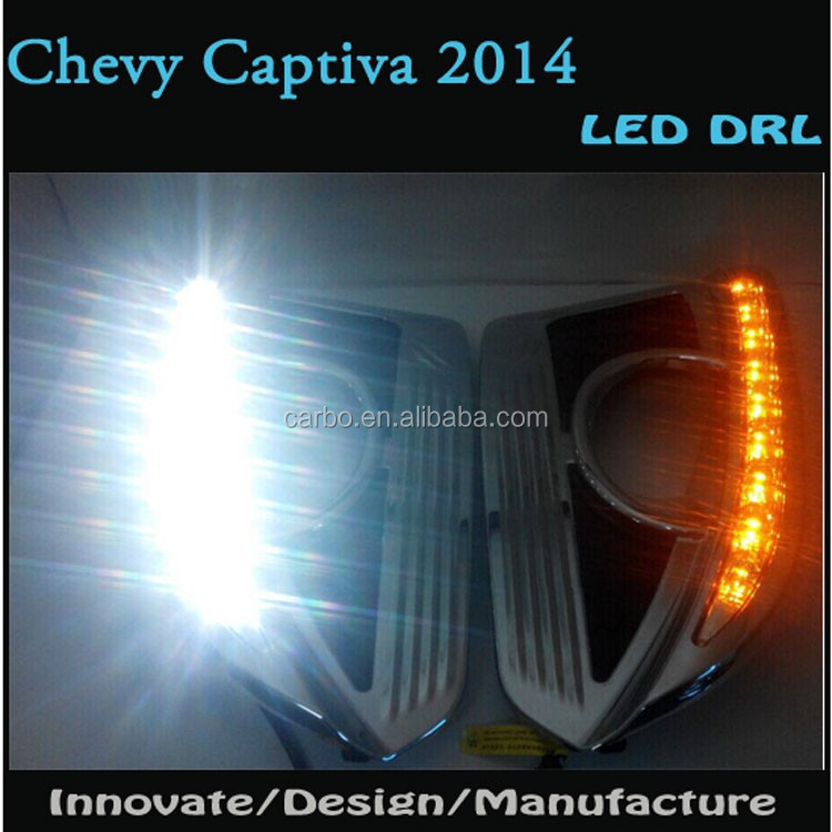 Excellent CAR-Specific LED DRL Daytime Running Light For 2014 Chevy Captiva