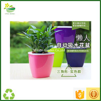 Wholesale selfwatering pots new material planters large plastic planters for outside