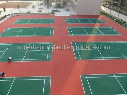 various colors available acrylic paint for badminton court