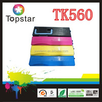 Hot new products compatible color toner cartridge TK560 /562/563/564