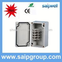 2013 hot sale stainless steel terminal box, ABS Waterproof Junction Box 4p
