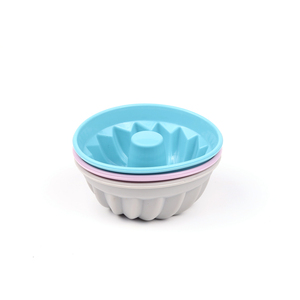 Reusable Non-Stick Silicone Cupcake Muffin Baking Cups 3 pcs Cake Molds Sets