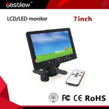 widescreen 7 inch lcd monitor HDMI with resistive touch screen