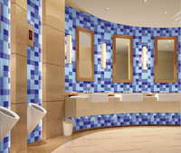 Bathroom Wall Tiles Mosaic Porcelain Tile In Dubai 73x73mm