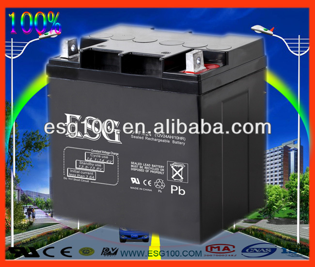 AGM 12V20ah forklift battery 48v