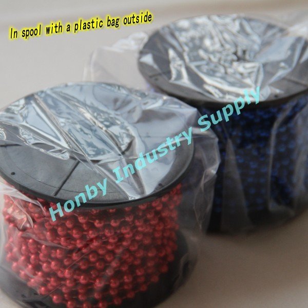 Hot SellingDecorative Color Plated Metal Ball Chain