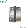 Stainless steel furniture hinge polished chrome butt door hinges