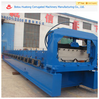Metal roof tile cold roll forming machine