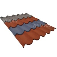 Nuoran factory directly supply decorative roof tiles/metal roofing shingle