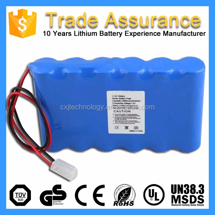 Large Battery Pack Rechargeable Lithium Ion Battery 12V 15Ah for Instruments Equipments Power Tools