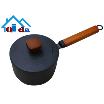 kitchenware cookware     Environmental protection    Iron   Multi-functional milk and  soup pot bbq  cooking pan