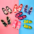 ODM Wholesale Cute Solf PVC Plastic Mini Baby Girl Jelly Sandal Shoes