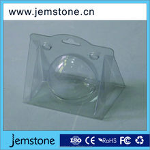 cheap price custom crystal clear PET/PVC box plastic packing