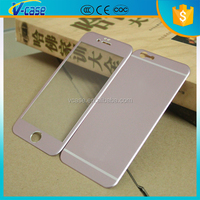 Newest superhard h9 tempered glass film easy fit screen protector for iphone 4