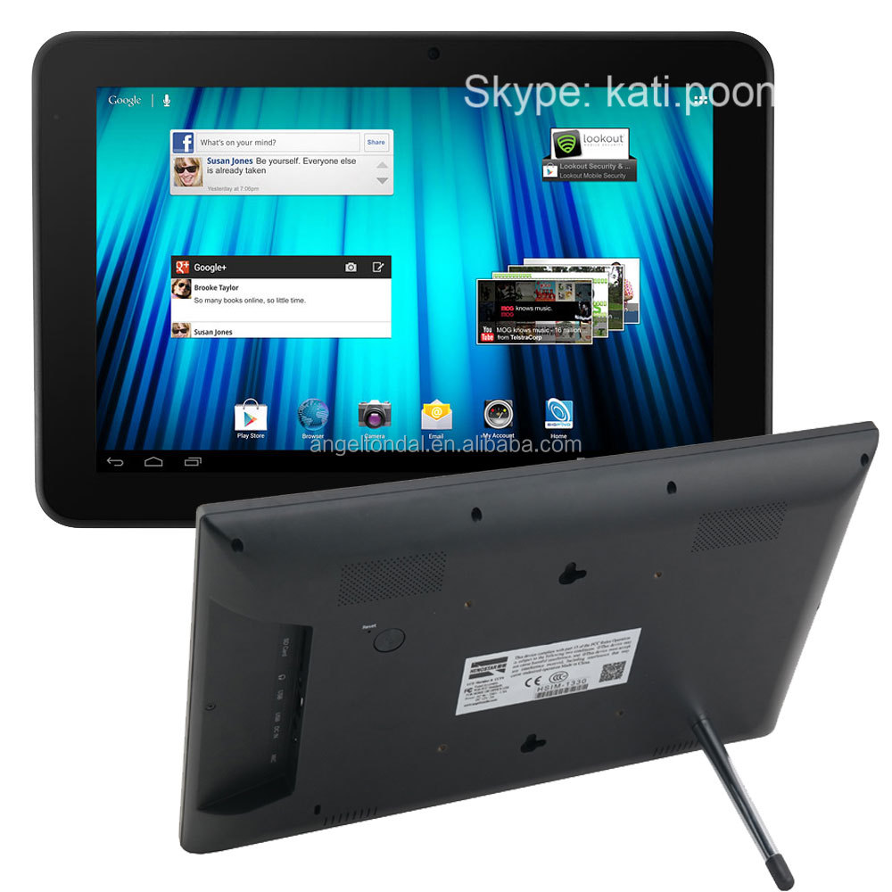 10.1 inch google android 4.4 tablet pc 16gb