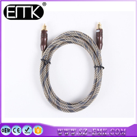 high speed Japan Fiber core material ps4 digital optical audio/video toslink cable
