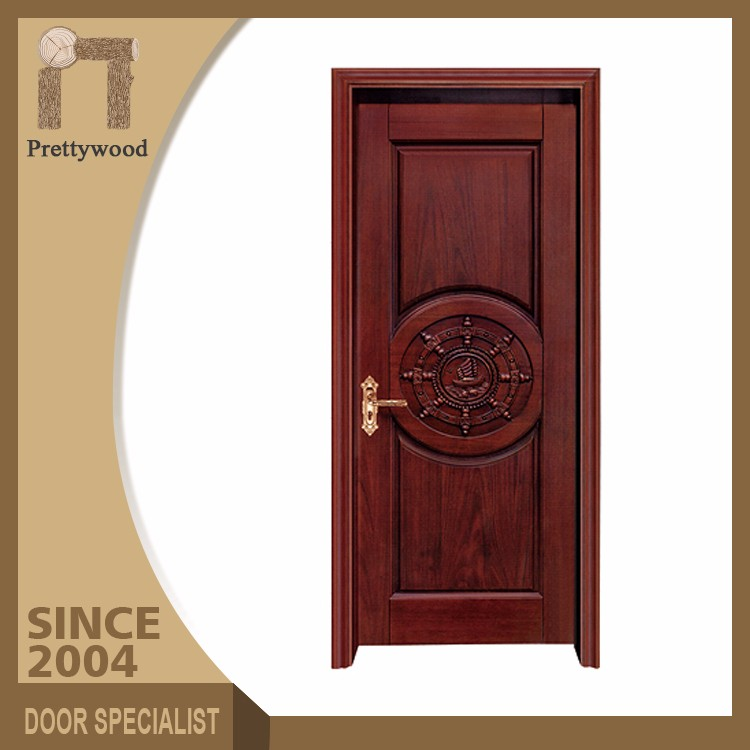 Reasonable Price American Interior Wooden Rounded Lacquer Door