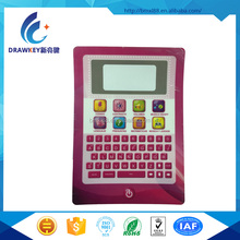 China Liangjian Custom Silicon Membrane Keypad With 3M Adhesive Backing