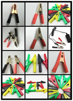 Good quality Alligator Clips test leads/Crocodile clips/ Battery clip test leads