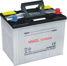 12 VOLTA DRY CHARGED Car Battery 55D23L 12V60AH