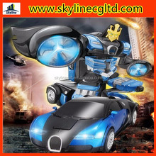 Alibaba Hot selling 2.4G rc car changing robot toy