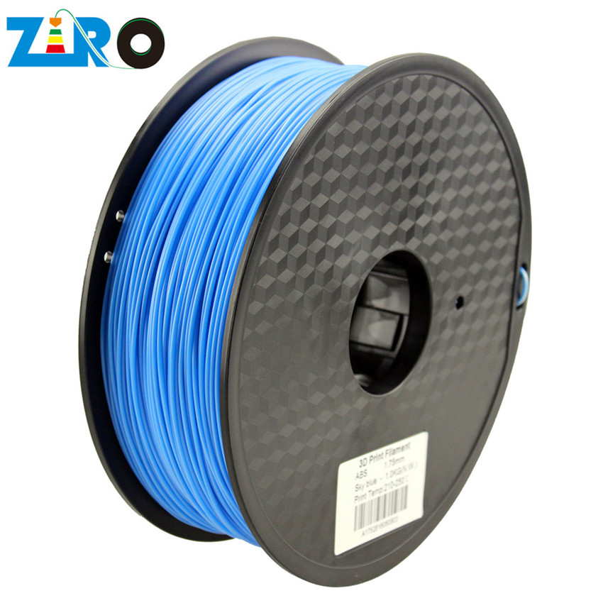 Wholesale 3D printer filament diameter 1.75 and 3 PLA/ABS material for 3D printer